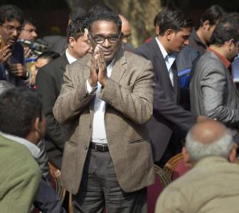'This press conference is a turning point in India's history'