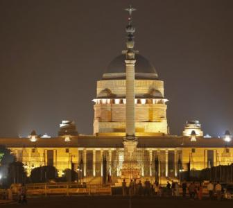 Guess how many people work at Rashtrapati Bhavan?