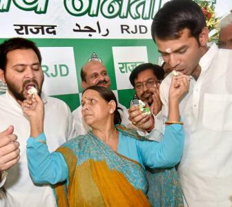 No rift in party or family, 'all is well', says Rabri and sons
