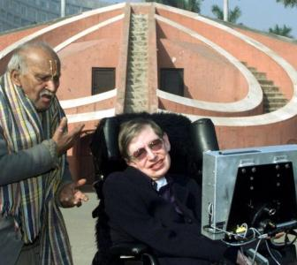 PHOTOS: When Hawking visited India