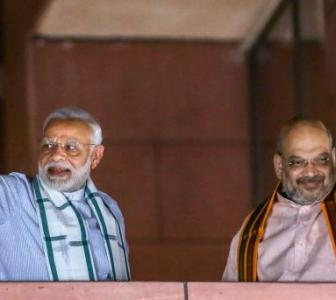 BJP will win all polls from now on: Shah