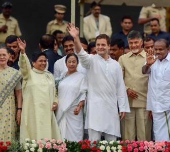 The odd man out at Kumaraswamy's big moment