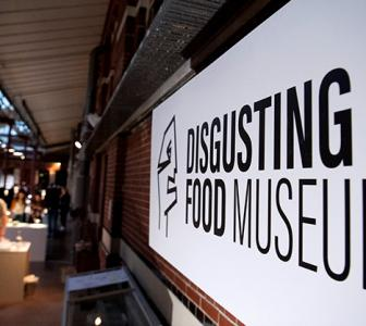 PHOTOS: A food museum for rabbit heads and maggot cheese!