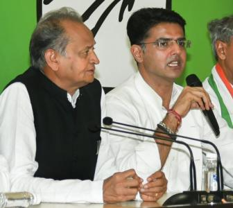 Bids to 'topple' Raj govt: Notices to Gehlot, Pilot