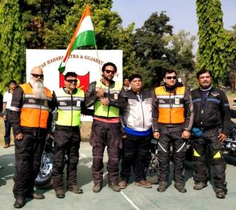Riding across India for our Faujis