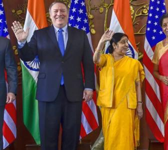 First 2+2 talks: India, US ink critical defence pact