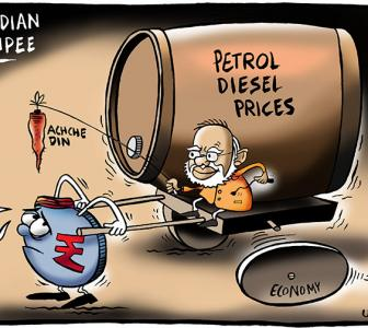 How fuel prices have risen under Modi regime