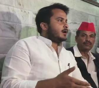 Son says EC targeted Azam Khan because he is Muslim