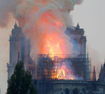 'Will rebuild' Notre Dame, vows Macron after huge fire