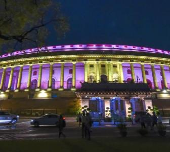 Parliament gets a makeover, shimmers in new lights
