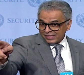 WATCH: India's UN envoy's 'hand of friendship' to Pak