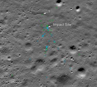 NASA finds debris of Chandrayaan 2's Vikram lander