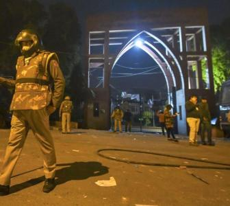 Ex-AMU student leader held for 'anti-CAA violence'