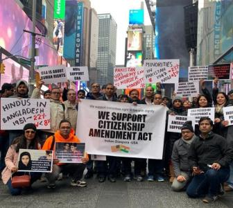 Desi hold rallies in New York to support CAA