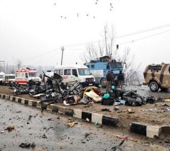 Explosion on CRPF convoy was heard 10 km away