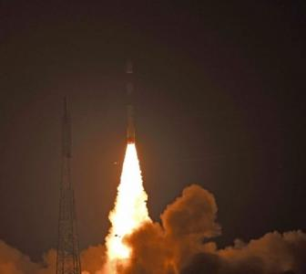 ISRO launches military satellite, students' payload Kalamsat