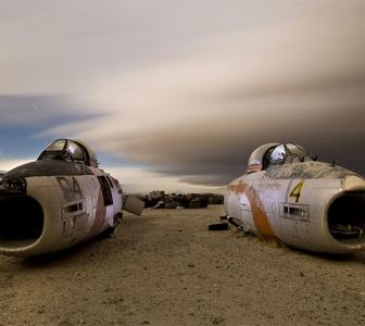 PHOTOS: Where planes go to die