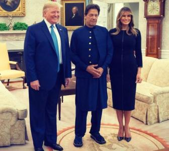 Why was Trump in a hurry to please Imran?