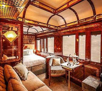On board the world's most luxurious train