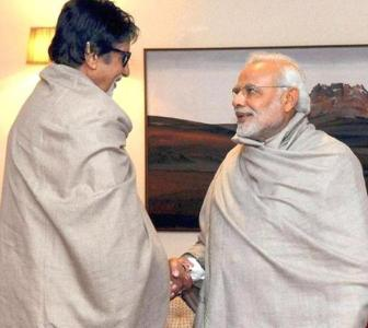 How Big B helped PM to increase his Twitter visibility