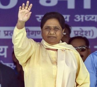 Modi left his wife for political gains: Mayawati