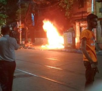 After violent clashes, Mamata and BJP in war of words