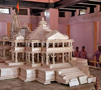 The man who designed the Ram temple