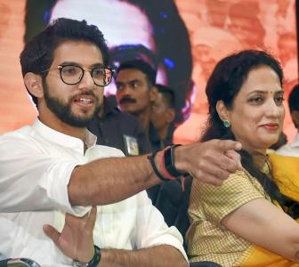 Will Aaditya's poll debut bring 'achche din' for Sena?