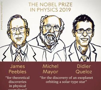 Cosmology trio win Nobel Physics Prize