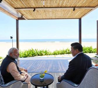 Did India, China really connect in Chennai?