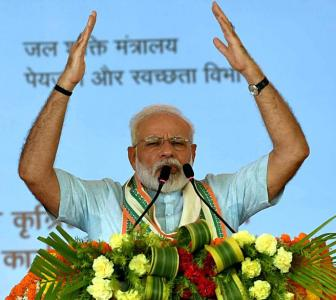 Some get alarmed when they hear 'Om', 'cow': Modi