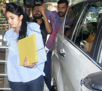 Shivakumar's daughter grilled for over 7 hours by ED