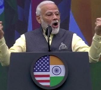 Everything great in India: PM when asked Howdy Modi