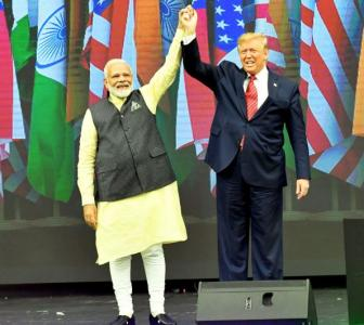 Congress accuses PM of campaigning for Trump