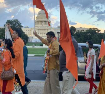 Indian-Americans celebrate Ram temple bhoomi pujan
