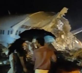 Air India Express plane skids off Kozhikode runway