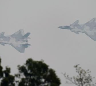 China arrays aerial firepower along Indian border