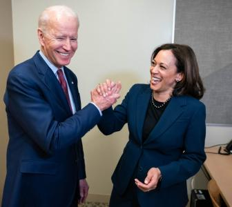 Joe Biden names Kamala Harris as his running mate
