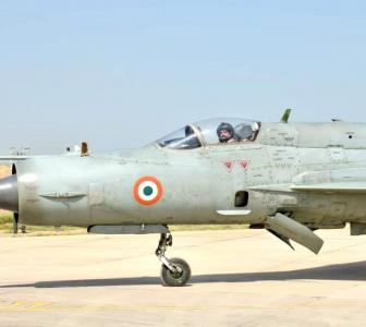 IAF chief flies MiG-21, reviews front op readiness