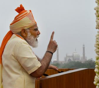 Gave befitting reply to those who challenged India: PM