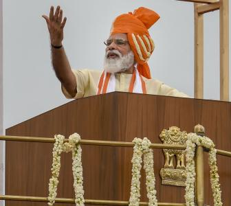 Aatmanirbhar Bharat at centre of Modi's I-Day speech