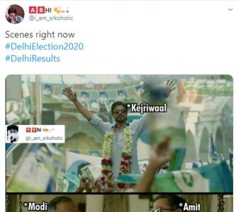 Delhi results give Twitter its latest memes