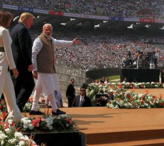 America loves India, respects India: Trump @Motera