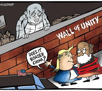 Uttam's Take: Trump likes walls!