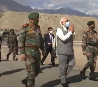 What China said on Modi's Ladakh visit