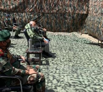 Watch Live: PM addresses soldiers in Ladakh
