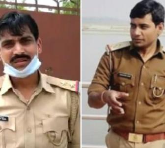 2 Kanpur cops held for 'tipping off' Vikas Dubey