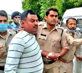 Vikas Dubey's arrest scripted, dubious: Congress