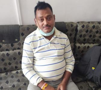 Gangster Vikas Dubey arrested in Ujjain