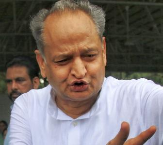 Pilot playing into the hands of BJP: Gehlot